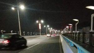 东莞虎门桥头LED路灯改造工程正式落地