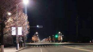 海阳市LED智能路灯改造项目圆满完成